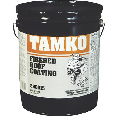 TAMKO 5 Gal. Fibered Asphalt Roof Coating