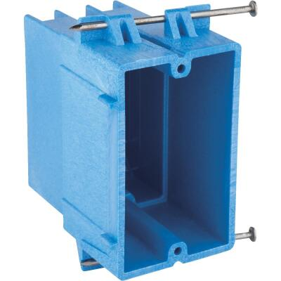 Carlon SuperBlue 1-Gang Thermoplastic Molded Wall Box