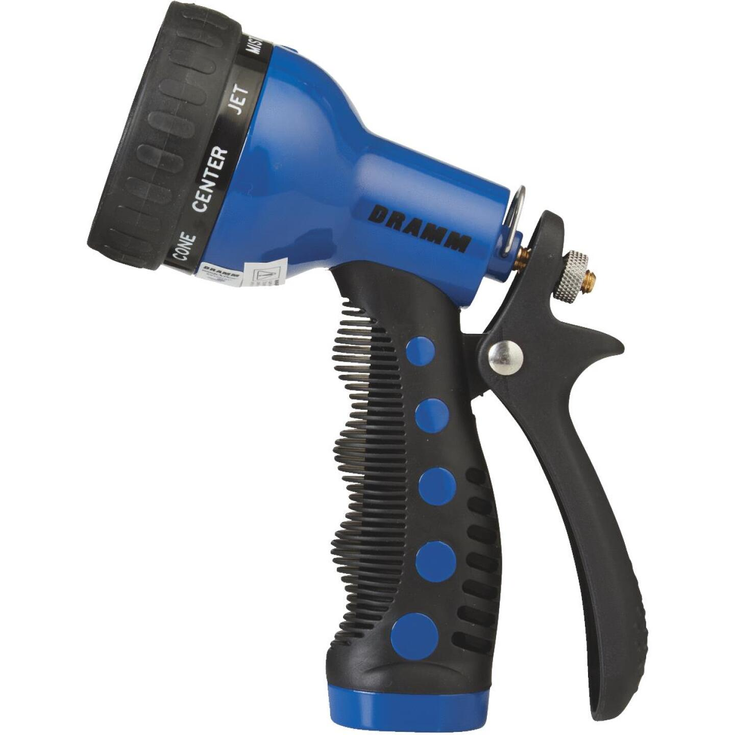 Dramm Heavy-Duty Metal 9-Pattern Nozzle, Blue Image 2